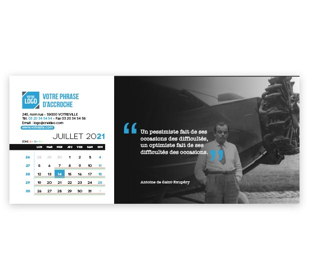 calendrier Allongé - Photo 13