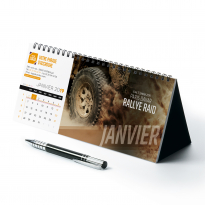 calendrier Allongé
