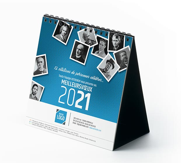 calendrier Carré - Photo 2