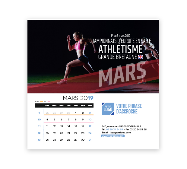 calendrier Carré - Photo 9