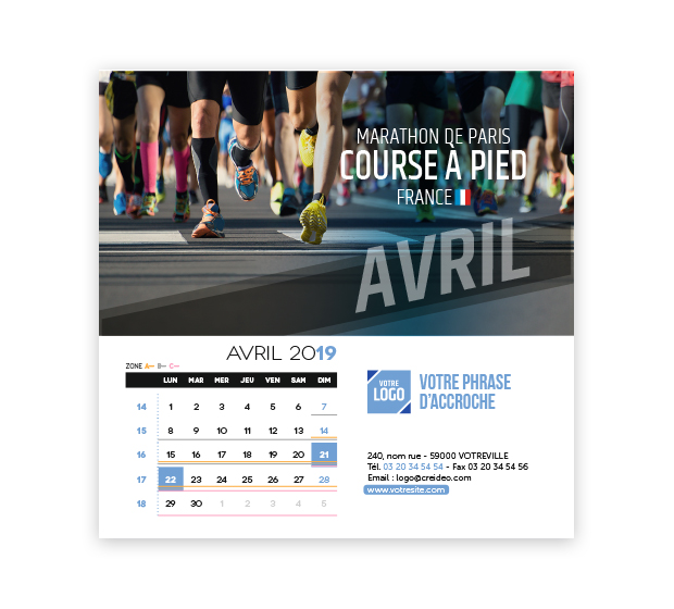 calendrier Carré - Photo 10