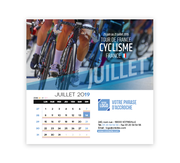 calendrier Carré - Photo 13