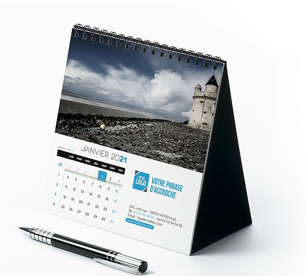 calendrier Carré - Photo 1