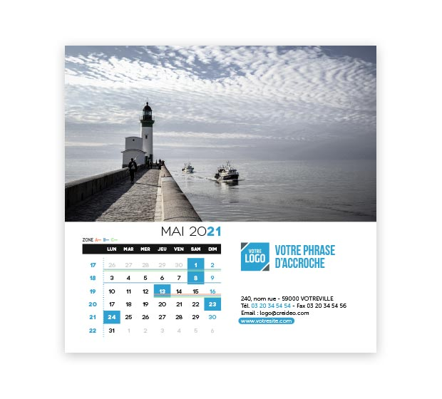 calendrier Carré - Photo 11