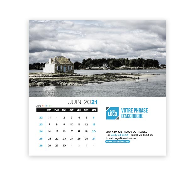 calendrier Carré - Photo 12