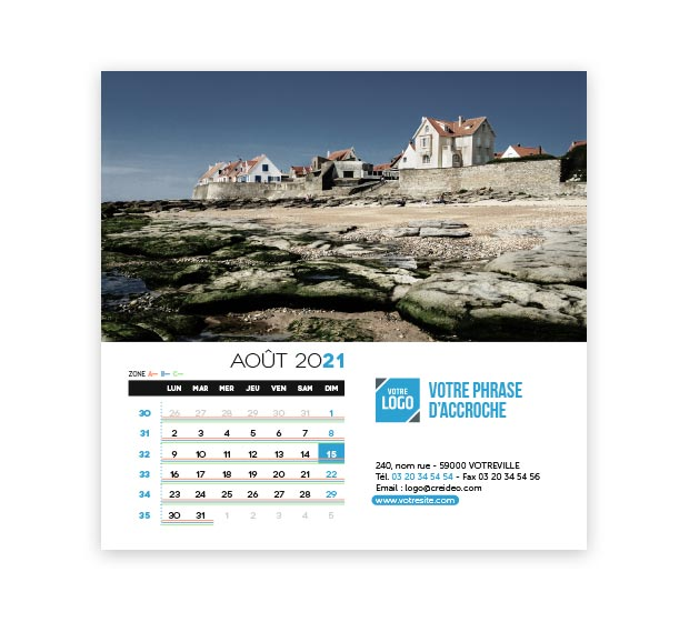 calendrier Carré - Photo 14