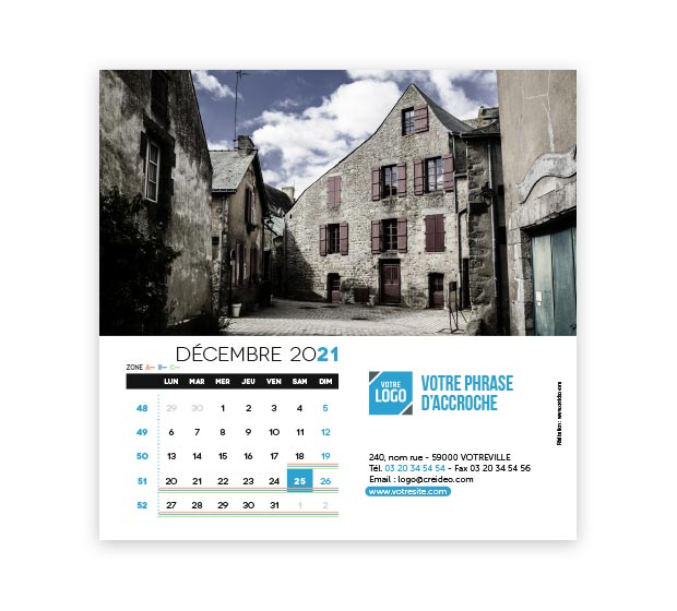 calendrier Carré - Photo 18