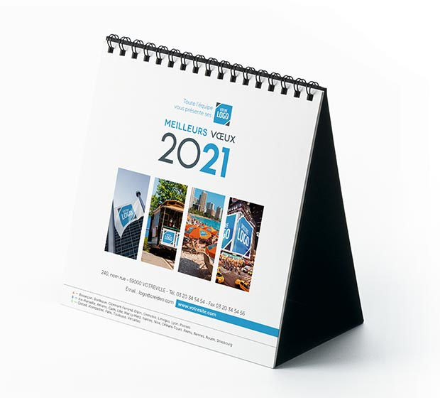 calendrier Carré logo - Photo 2