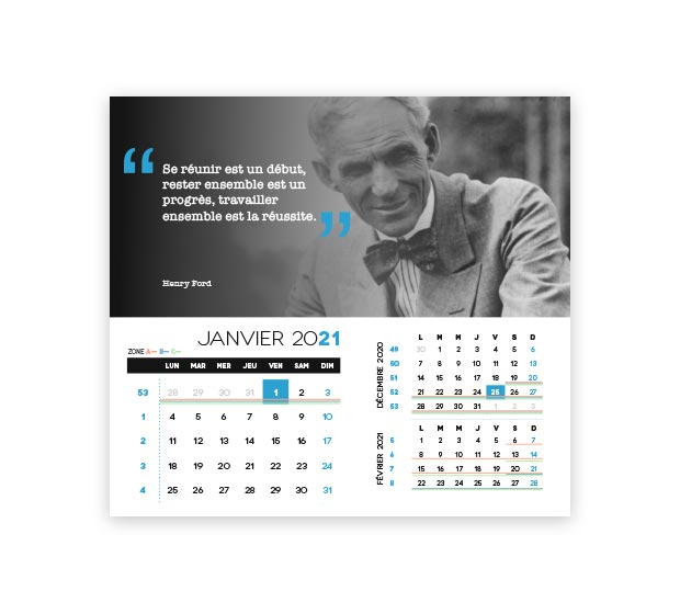 calendrier integral - Photo 7