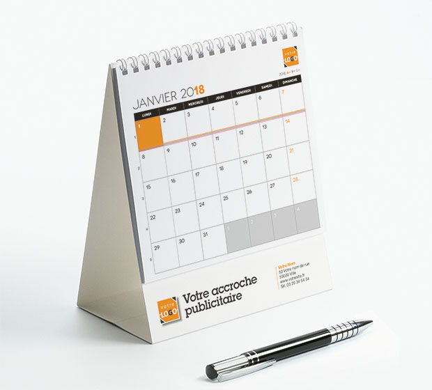calendrier Intégral nominatif - Photo 2