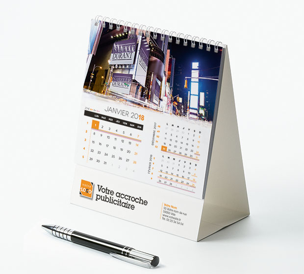 calendrier Intégral nominatif - Photo 1