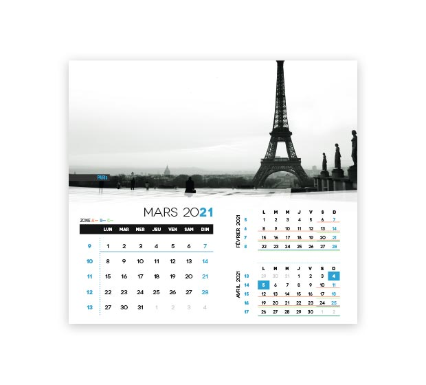 calendrier integral - Photo 9