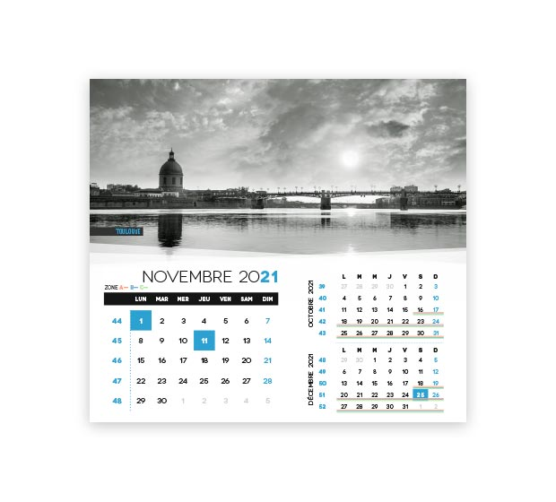 calendrier integral - Photo 17