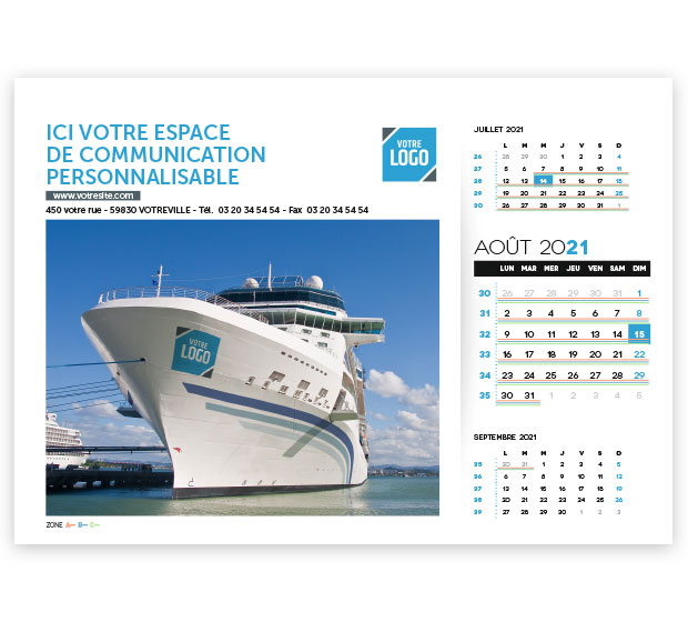 calendrier Prestige logo - Photo 15