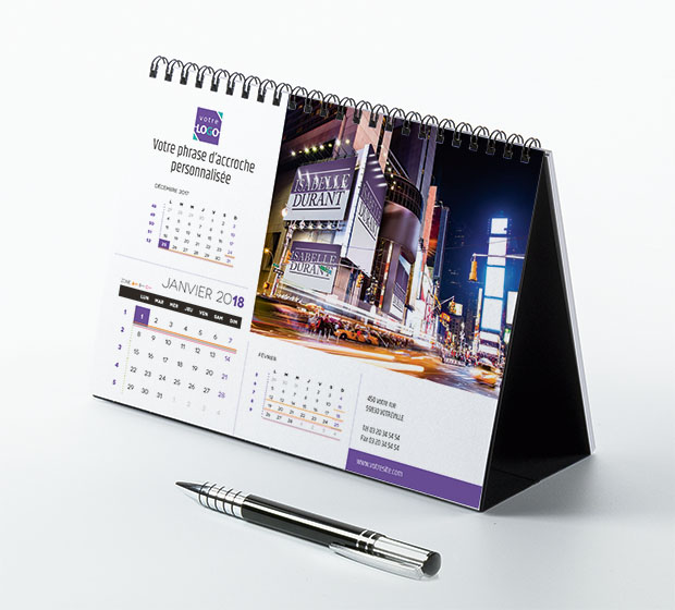 calendrier Prestige nominatif - Photo 1