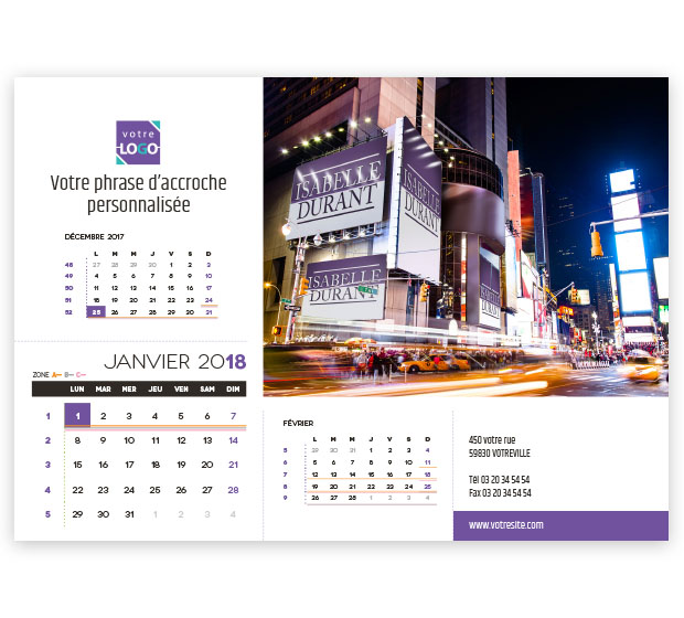 calendrier Prestige nominatif - Photo 8