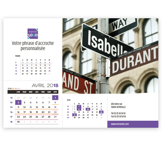 calendrier Prestige nominatif - Photo 11
