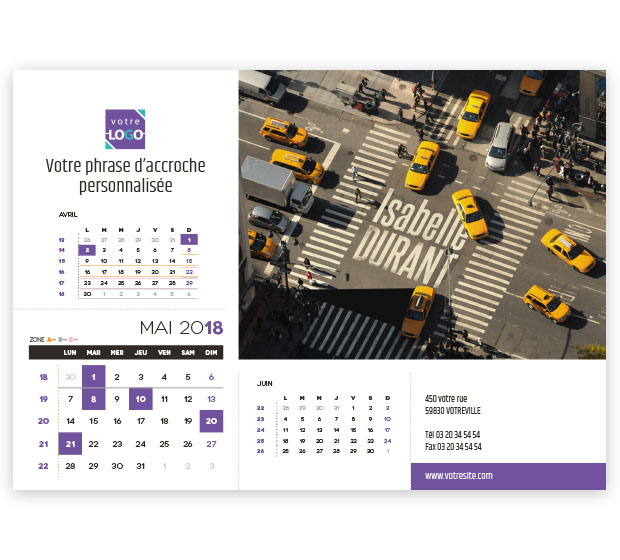 calendrier Prestige nominatif - Photo 12