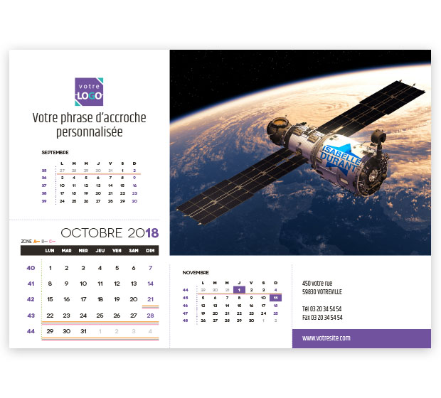 calendrier Prestige nominatif - Photo 17