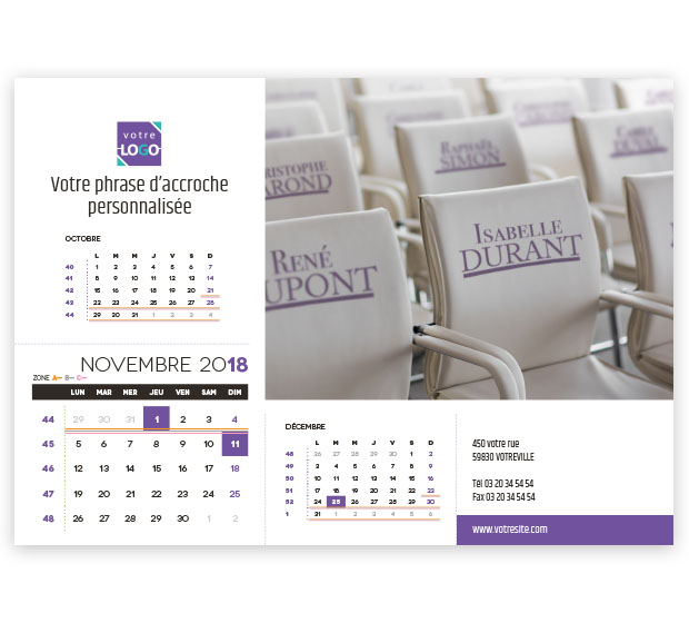 calendrier Prestige nominatif - Photo 18