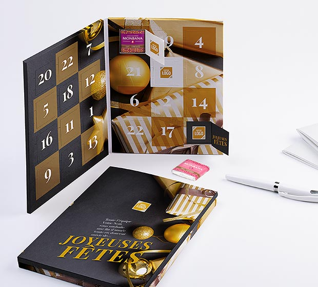 calendrier Calendrier MINI Avent A5 - Photo 1